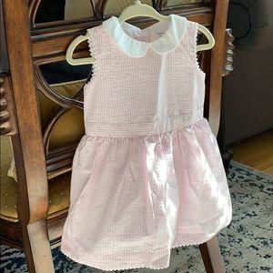 Mint Ralph Lauren Girls Seersucker Dress 9M